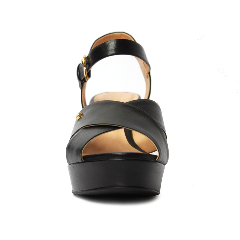 Espuma Black Wedges
