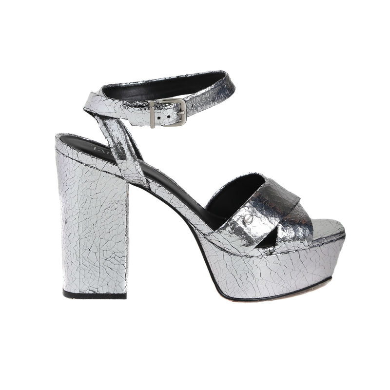 Broadway Silver Sandals