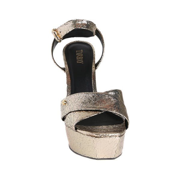 Broadway Gold Sandals