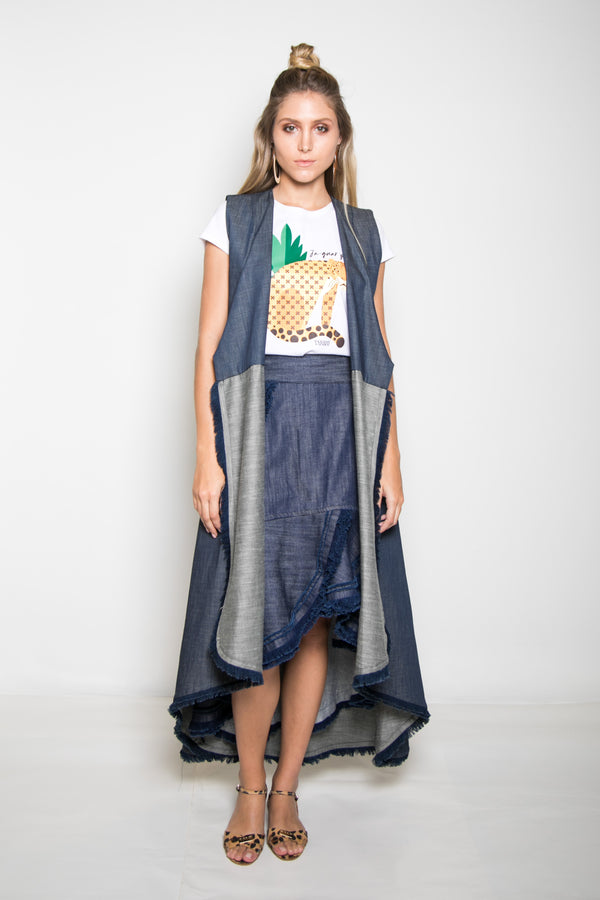 Malanga Cape-Dress - TARBAY
