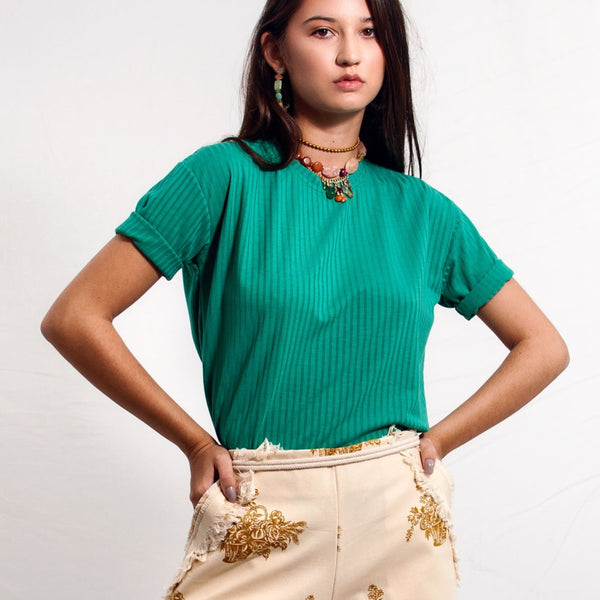 Ale T-Shirt - Emerald - TARBAY