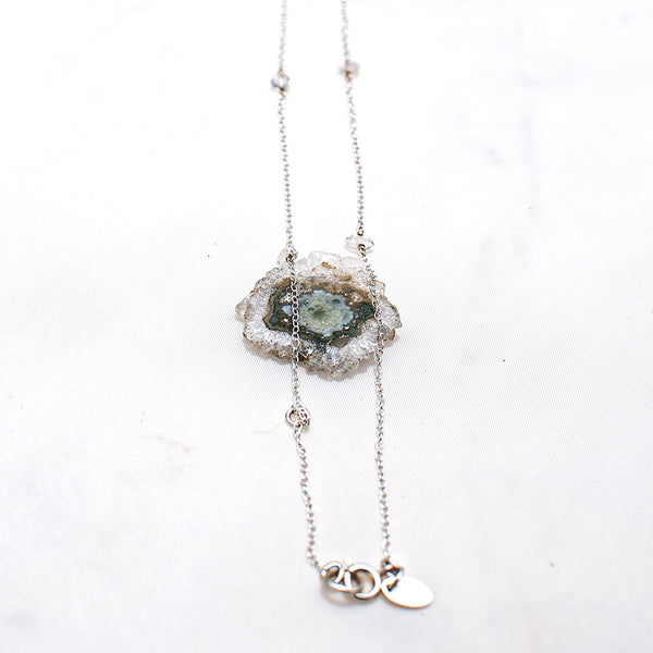 Bliss Necklace - Diamond quartz