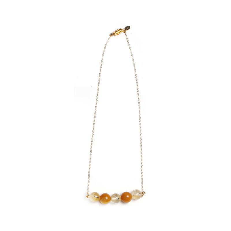 Rosetta Yellow Necklace