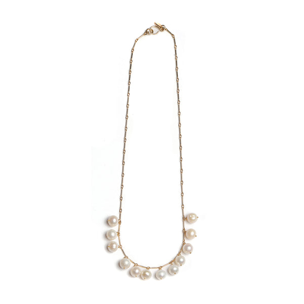 Margot Necklace - Pearl