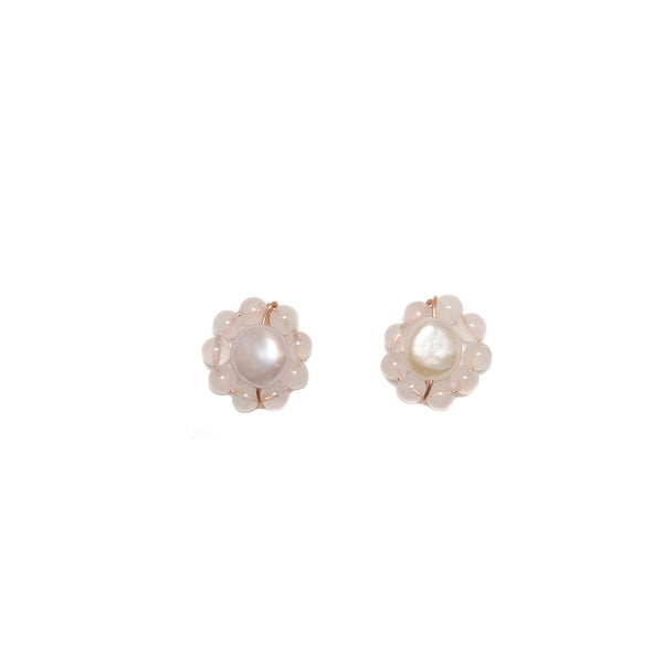 Rosetta 25mm Quartz Earring