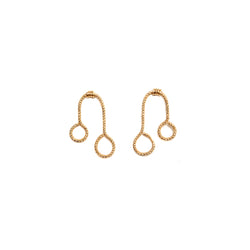 Lilli 35mm Button Earring