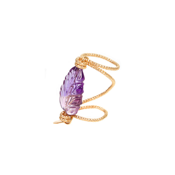 Maeve 30mm Purple Ring