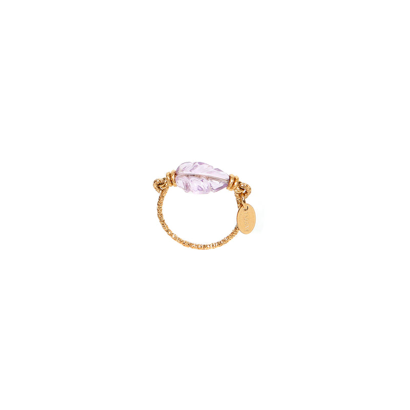 Maeve Ring (18mm)- Amethyst