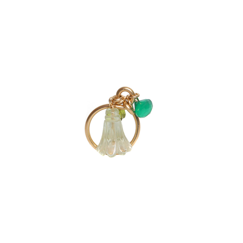 Branwen Green Onyx Ring