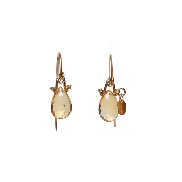 Serpentina 55mm Citrine Earring