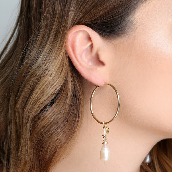 Christine Pearl Earings