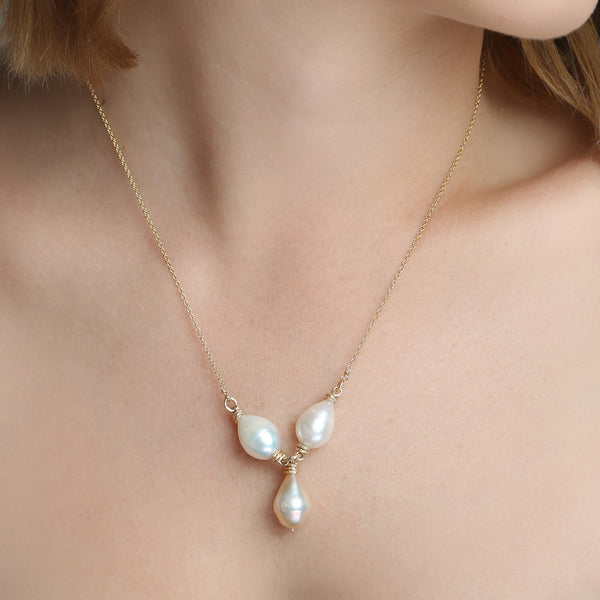 Susan Pearl Necklaces