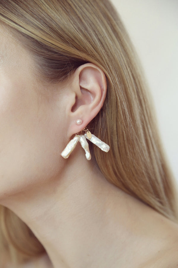 Estela 35mm Pearls Earring