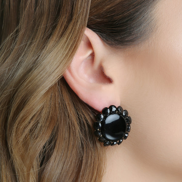 Dorothy Black Earrings