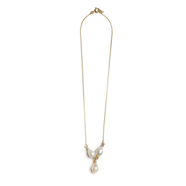 Susan Necklace - Pearl - TARBAY