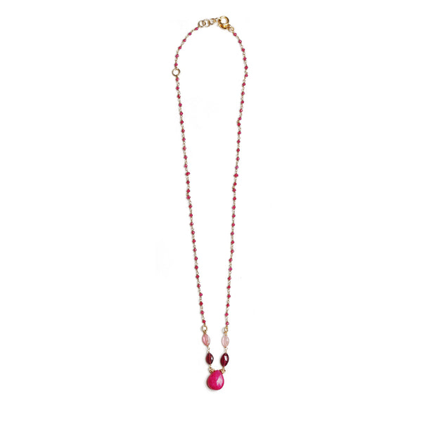 Sheryl Red Necklaces