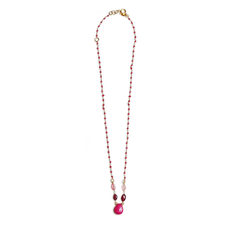 Sheryl Red Necklace