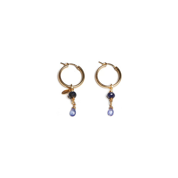 Christine Small Blue Earings