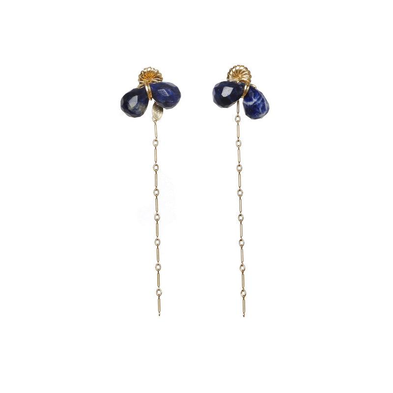 Dalila Blue Earings