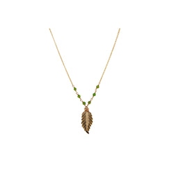 Foresta Necklace #1 - Green Tourmaline