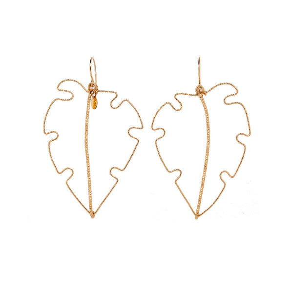 Leaves Dangle Earrings - TARBAY