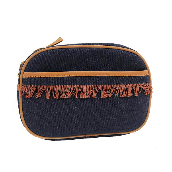 Dan Clutch Bag - Navy