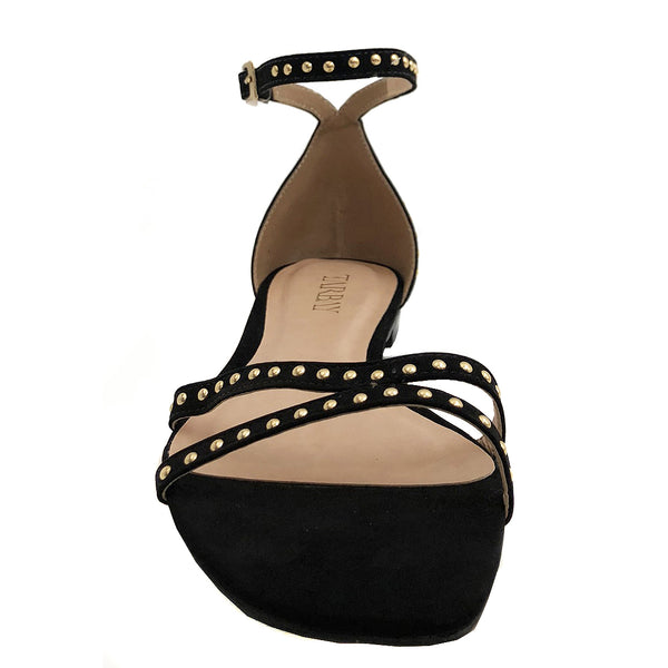 Anne Black Sandal