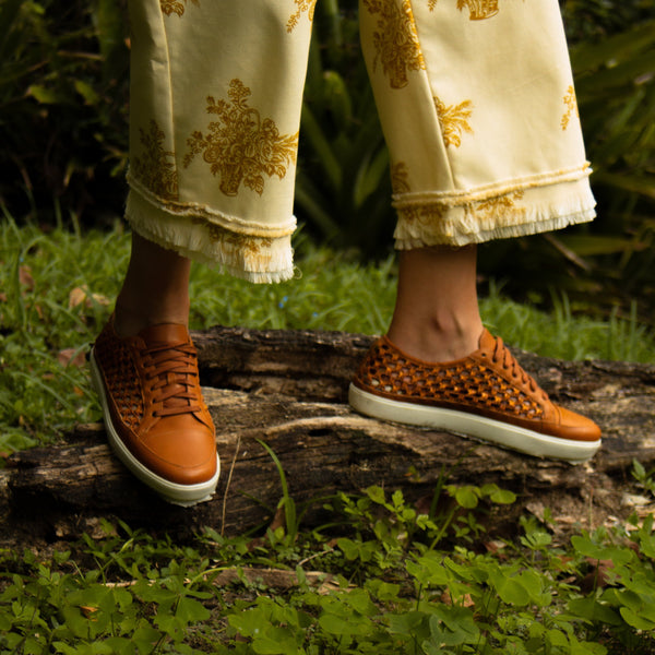 Espartana Sneaker - Honey - TARBAY