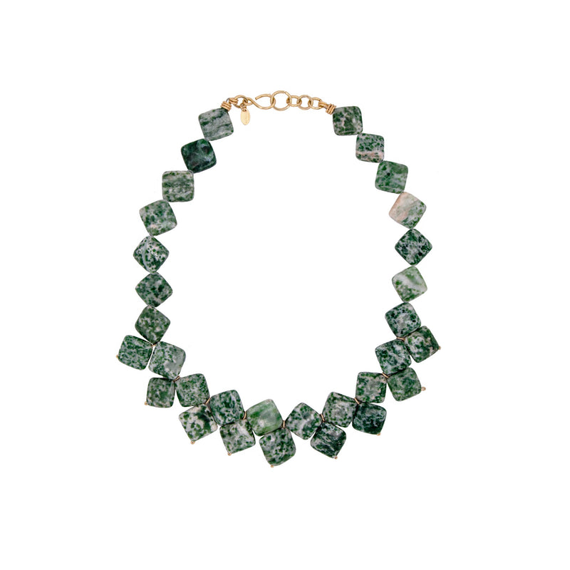 Mauritia Jasper Necklace