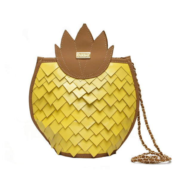 Pineapple Yellow  Bag