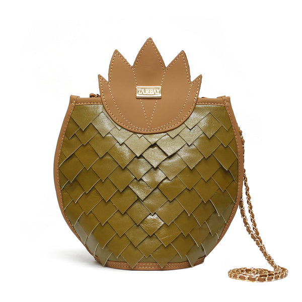 Pineapple Green Bag