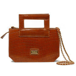 Norwich Clutch Bag - Caramel