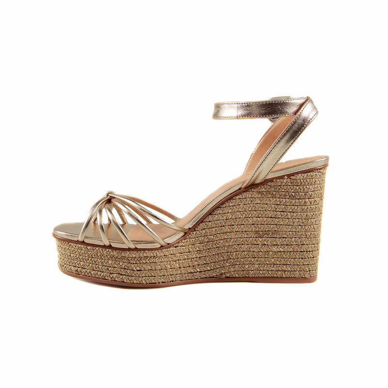 Edrielle Gold Wedge