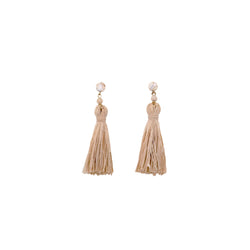 Moriche Earring #1 - White Turquoise & Moriche Palm - TARBAY