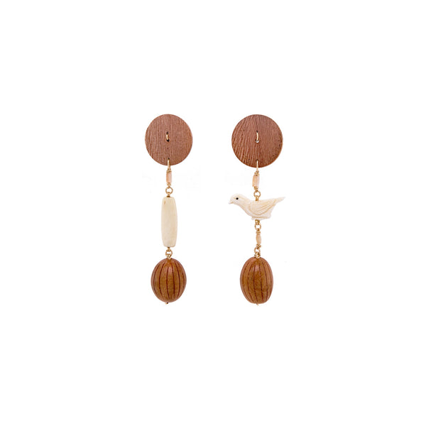 Panare Earrings - Imperial Topaz - TARBAY