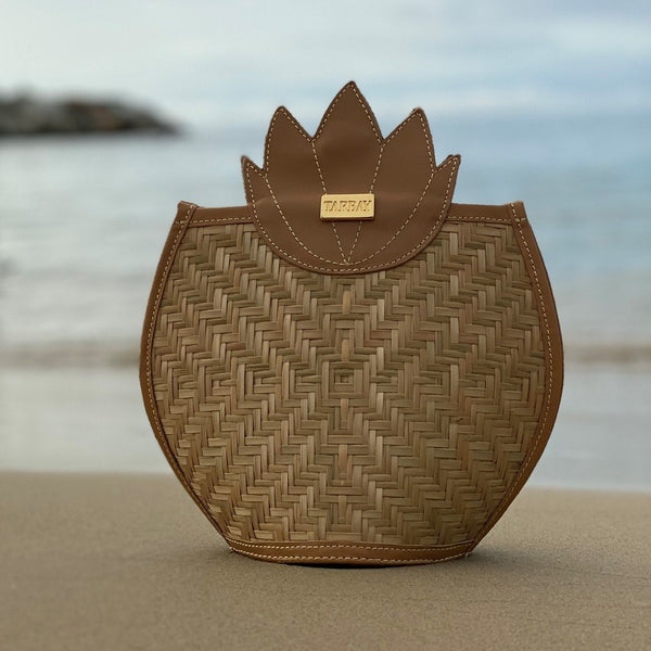 Pineapple Crossbody Bag and Backpack - Caramel - TARBAY