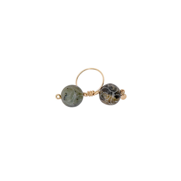 Rosetta Ring - Green Jade - TARBAY