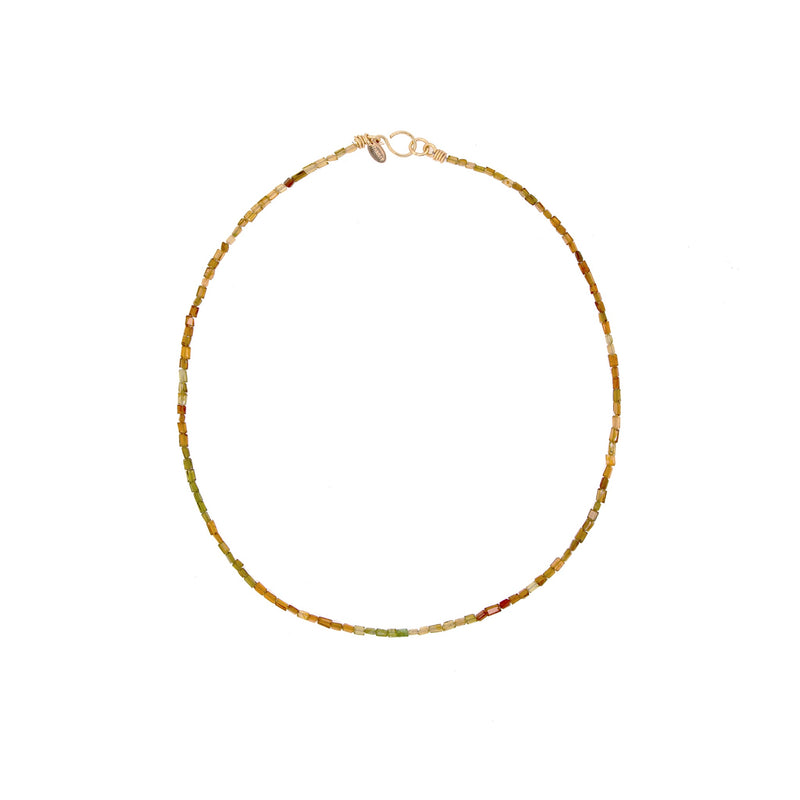 Sabana Necklace #2 - Tourmaline - TARBAY