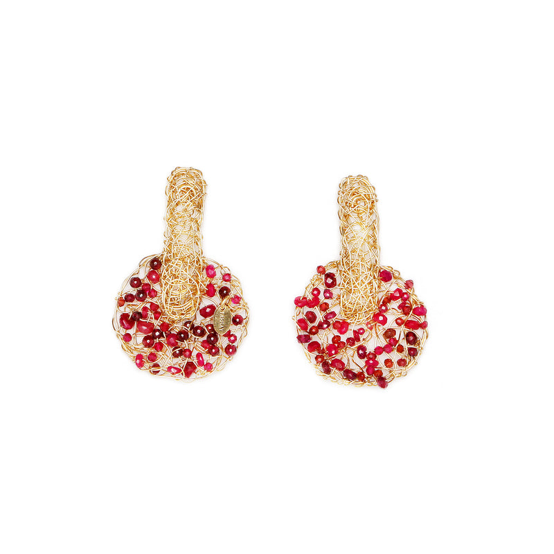 Maddy Red Earring