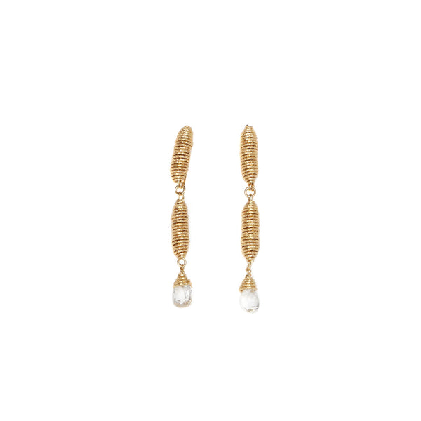 Pergamino Dangles  Earrings