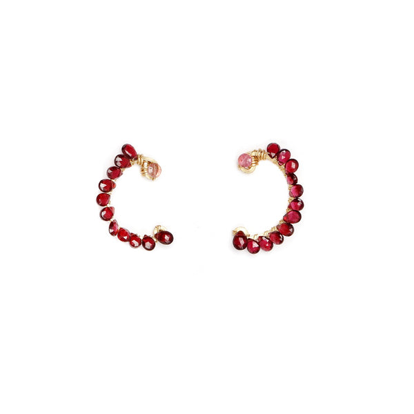 Atargati Red Earring