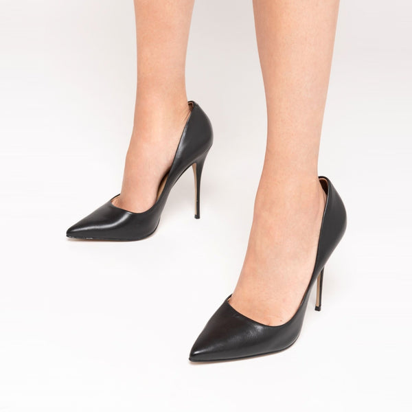 Lore Stilettos High Heel Shoes - Black - TARBAY