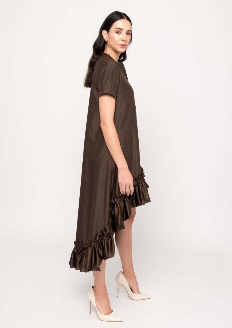 Katty Dress - Chocolate - TARBAY