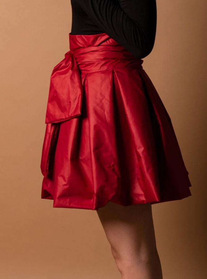 Sabrina Skirt - Red - TARBAY