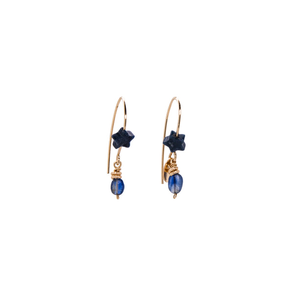 Bari Dangle Earrings #2 - Kyanite - TARBAY