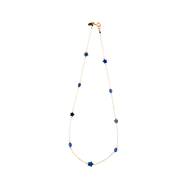 Bari Necklace #1 - Kyanite