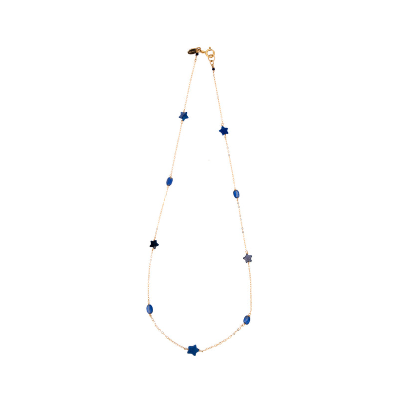 Bari Necklace #1 - Kyanite - TARBAY