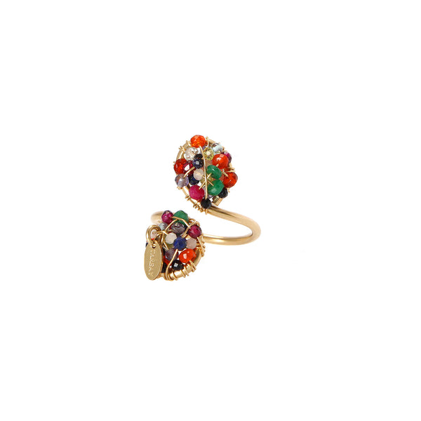 Lucia Multicolor Ring