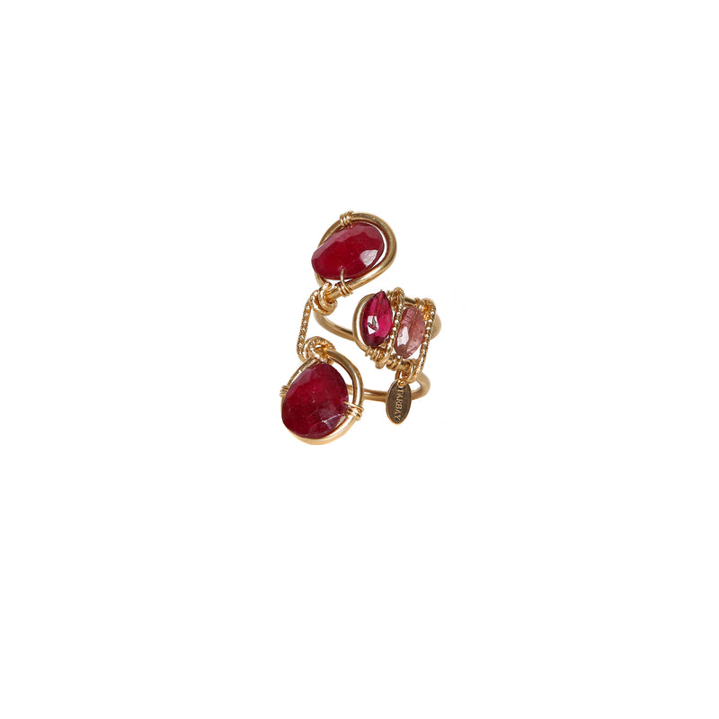 Serpentina Red Ring