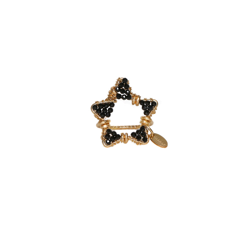 Star Black Ring